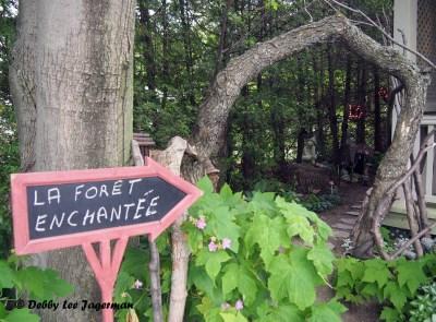 L'Art au Jardin La Foret Enchantee Ile d'Orleans