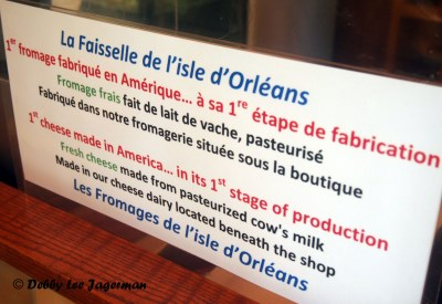 Les Fromages de l'Isle d'Orleans First Stage