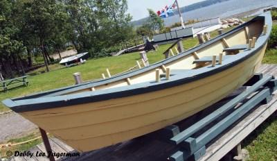 Parc Maritime Ile d'Orleans Wooden Rowboat
