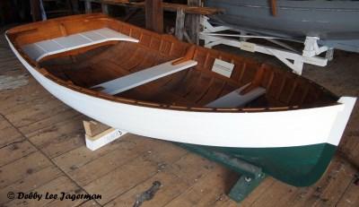 Parc Maritime Ile d'Orleans Wooden Boat