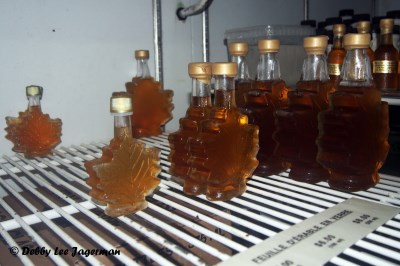 Richard Boily Pure Maple Syrup Leaves Ile d'Orleans