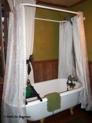 Gite au Toit Bleu Bed and Breakfast Ile d'Orleans Bath Shower