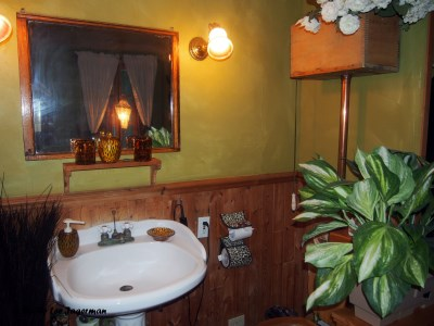 Gite au Toit Bleu Bed and Breakfast Ile d'Orleans Bathroom