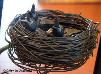 La Forge a Pique Assaut Ile d'Orleans Blacksmith Birds