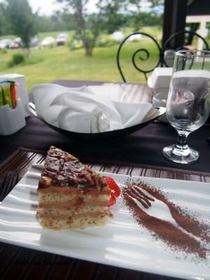 La Grange de l'ile Chocolate Hazelnut Cake