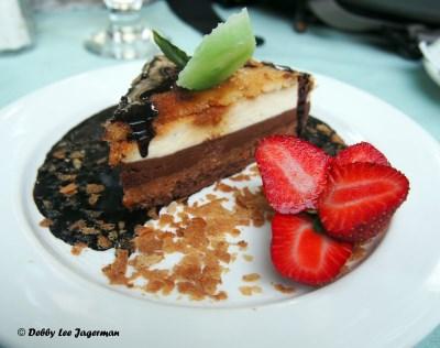 Le Moulin de Saint Laurent Chocolate Vanilla Mousse Dessert