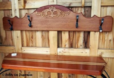 Le p'tit Atelier Wood Working Ile d'Orleans Table and Coat Rack