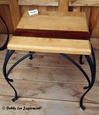 Le p'tit Atelier Wood Working Ile d'Orleans Feather Table