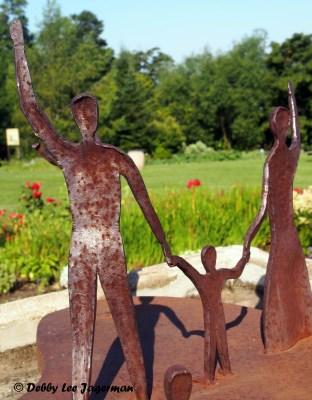 Le Memorial des Familles Souches Ile d'Orleans Blacksmith Standing Family