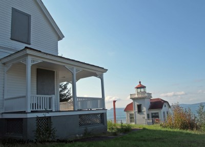 Burrows Island Light Station Keepers Quarters
