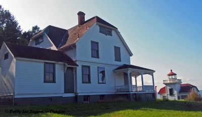 Burrows Island Lighthouse Keepers Quarters