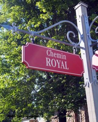 Ile d'Orleans Chemin Royal