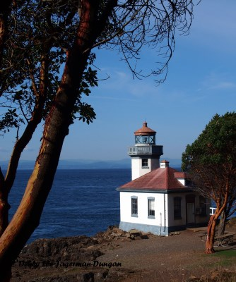 Lime Kiln Lighthouse San Juan Island