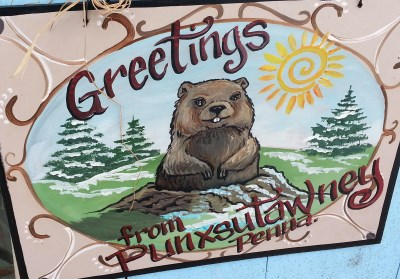 Greetings From Punxsutawney, PA