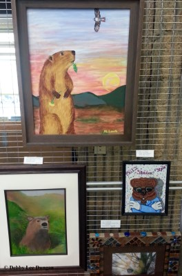 Groundhog Artwork