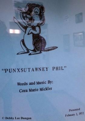 Punxsutawney Phil Cora Marie Mickler