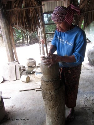 International Womens Day Cambodia Pottery Making