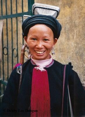 International Womens Day Vietnam Black Dzao