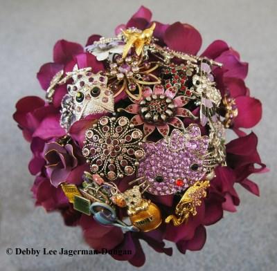 Brooch Bouquet Flower Girl