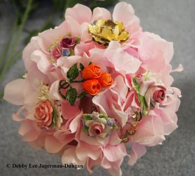 Brooch Bouquet Flowers