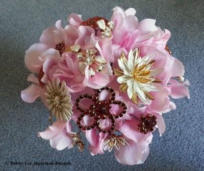 Brooch Bouquet Water Lilies