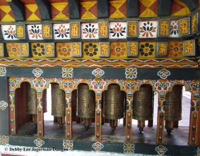 Prayer Wheels Bhutan