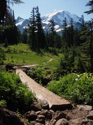 Wonderland Trail Mt Rainier