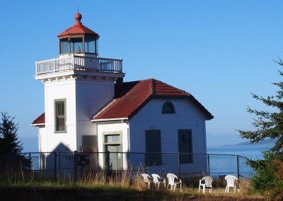 Burrows Island Light Station