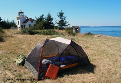 Burrows Island Lighthouse Tent