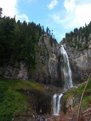 Mt Rainier Comet Falls