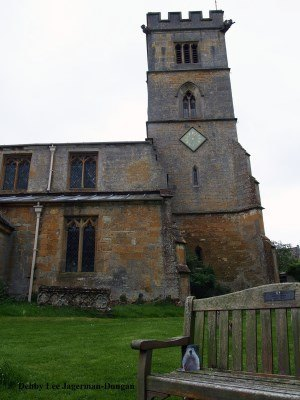 Saint Michaels Church Buckland Cotswolds Punxsutawney Phil