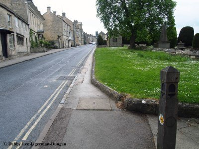 Cotswolds Road Through Painswick