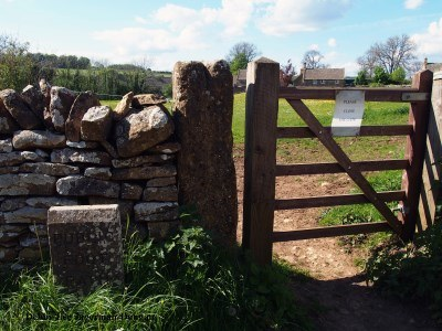 Cotswolds Gate Please Close the Gate