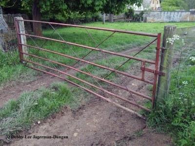 Cotswolds Gate Rusty Metal