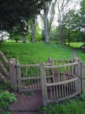 Cotswolds Kissing Gate Wooden