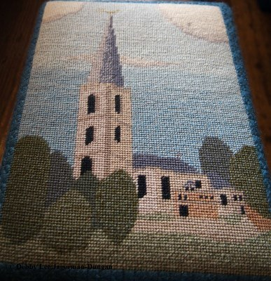 Cotswolds Kneeling Pillows Painswick Church