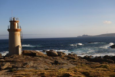 Muxia Lighthouse with Faro de Cabo Villano