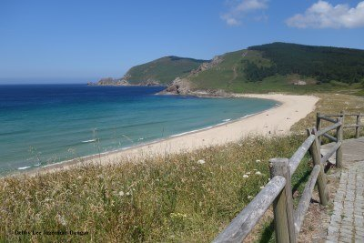 Praia do Mar de Fora Finisterre Beach