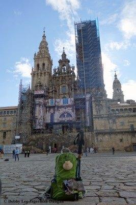 Camino de Santiago Daypack Cathedral de Santiago