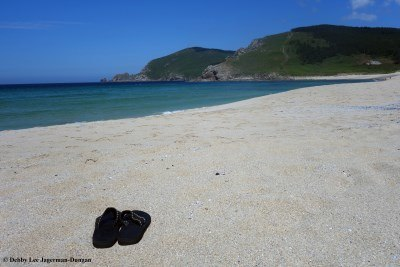 Camino de Santiago Flip Flops Finisterre