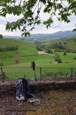 Camino de Santiago Tips Backpack Hiking Poles