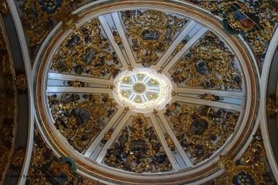 Camino de Santiago Dome Ceilings Burgos Cathedral
