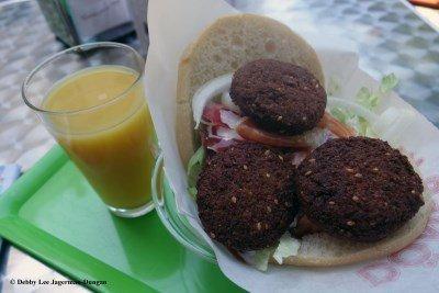 Camino de Santiago Food Falafel
