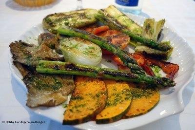 Camino de Santiago Food Grilled Vegetables