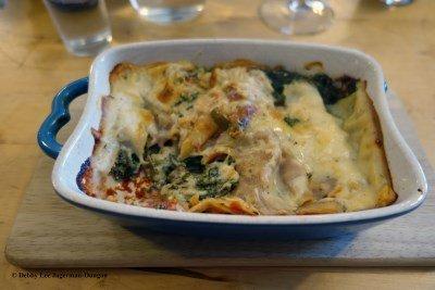 Camino de Santiago Food Lasagna