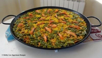 Camino de Santiago Food Paella