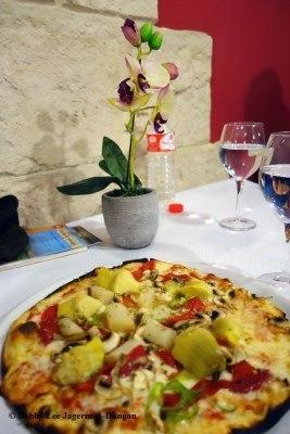 Camino de Santiago Food Pizza