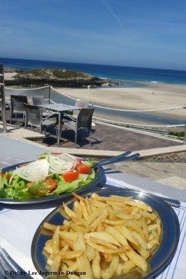 Camino de Santiago Food Salad French Fries