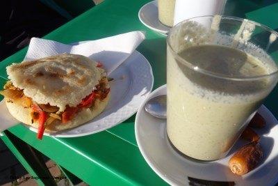 Camino de Santiago Food Smoothie Vegetable Sandwich