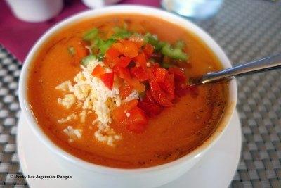 Camino de Santiago Food Soup Gazpacho